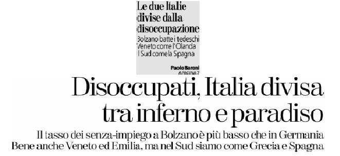 Titolo La Stampa